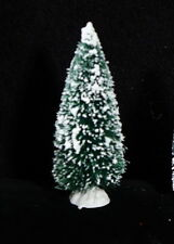 """Flocked 4"""" Bottle Brush Christmas Tree - Nip"""