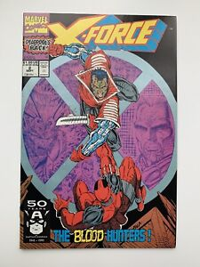 X-Force #2 2nd App Deadpool, Cable, Liefeld, Marvel Comics 1991, VF to NM