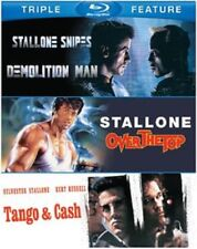 Demolition Man + Over The Top + Tango and Cash Sylvester Stallone Blu-ray Reg B