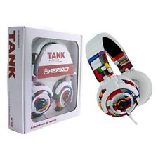 Aerial7 Tank Mondrian Multi-Colored Over-Ear DJ/Multi-Device Headphone