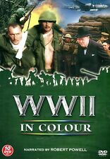 WWII IN COLOUR TEN 10 DVD BOX SET ROBERT POWELL WORLD WAR 2 The WHOLE SERIES
