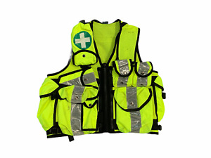 Hivis Tactical Medic Vest Tac Vest Security Dog Handler Like Arktis K175 OHVTV67