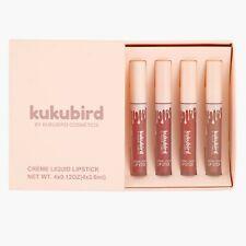 Kukubird Lipgloss Lipstick Liquid Matte Set / APRICOT, POSIE K, MALIBOO, MARY JO