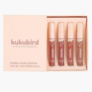 Lipgloss Lipstick Liquid Velvet Matte Set / APRICOT, POSIE K, MALIBOO, MARY JO