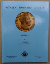 Franceschi (Brussels) & Spink & Son (Zurich): Auktion 21 Belgian & French coins