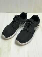 Men's Nike Roshe 10 Sneakers Black White Sole Shoes Used But Great 0516.0