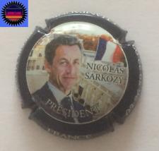Capsule de Champ PIERRE MIGNON Cuvée Nicolas Sarkozy Bleu Foncé Métalisé n°73e