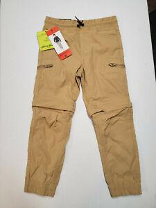 Boys' Zip-Off Pants, Eddie Bauer, Tan, Size 6
