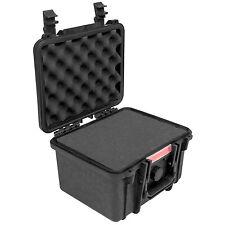 Case Outdoor Hartschalen Schutzkoffer + Schaumstoff wasserdicht Schutzart IP67