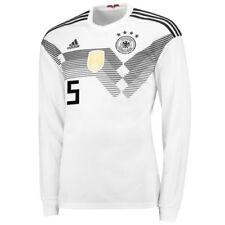 Camisetas de fútbol de selecciones nacionales de manga larga para hombres adidas