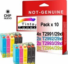 10 cartuchos tinta non oem para Epson XP235 XP332 XP335 XP432 XP435 T29 29XL