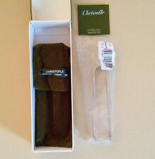 Christofle Malmaison Sterling Silver Sugar Tongs - New Sealed reduced from $695