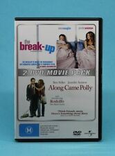 The Break-Up / Along Came Polly (DVD,2008,2-Disc Set) Jennifer Aniston, 💜R 2, 4