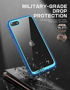 SUPCASE For iPhone SE 2nd Gen & iPhone 7 8 Slim Defensive Bumper Case Thin Cover