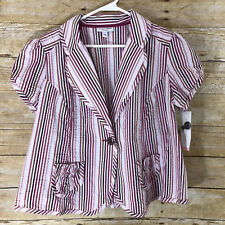 Liz Lange Maternity for Target New With Tags Top Striped Women's Shirt