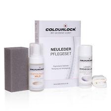 Colourlock Reinigungs- und Pflegeset Glattleder mit Leder Versiegelung MILD
