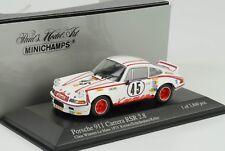 Porsche 911 Carrera RSR 2.8 #45 24h LeMans 1973 1 43 Minichamps
