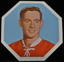 1961-62 YORK PEANUT BUTTER HOCKEY CARD #35, Bob Rousseau, Montreal Canadiens