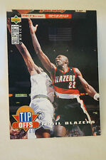 NBA TIPP OFFS - Collectors Choice - Clyde Drexler - TRAILBLAZERS