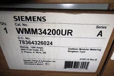SIEMENS WMM-34200UR WMM34200UR RESIDENTIAL OUTDOOR METER 1200amps NEW NIB