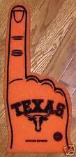 NCAA Texas Longhorns Foam Finger - #1 Fan NEW