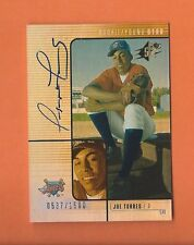2000 SPX RC ROOKIE JOE TORRES ON CARD AUTO #d 0537/1500 ANAHEIM ANGELS