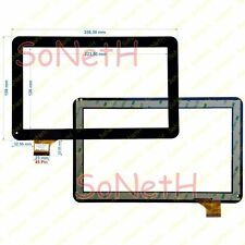 "Vetro Touch screen Digitizer 10,1"" ADJ Style TAB 10.1 400-00044 3G Nero"