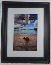 Digital Photography Photograph Fine Art Print Framed Airplane Beach Theme