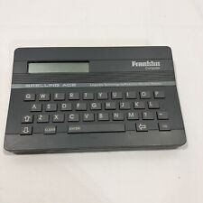 Franklin Computer Spelling Ace Sa-98 English Spell Checker with Thesaurus