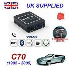 For Volvo C70 Music Streaming Bluetooth Telephone SD AUX CD Digital Module HU