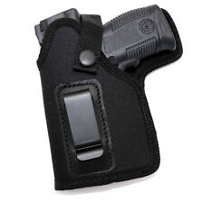 LEFT HAND IWB Clip-On or OWB Belt Holster - SPRINGFIELD XDS w/ VIRIDIAN LASER