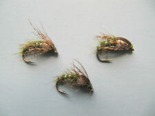 3 X HOLY GRAIL NYMPHS WET TROUT FLIES  sizes 10, 12, 14, 16 available