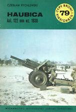 TYPI BRONI 79 WW2 SOVIET 122mm M1938 (M-30) HOWITZER_FINLAND_WEHRMACHT_EGYPT_SYR