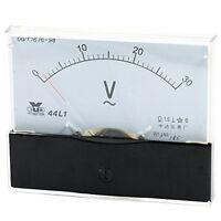 1×Analog Panel Volt Voltmeter Meter AC 0-30V Measuring Range 44L1 New