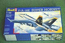 REVELL 1/48 F/A-18E HORNET SINGLE SEATER.  #04585 2005