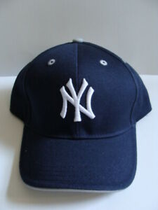 NWT Kids New York NY YANKEES Baseball Hat Team Navy Adjustable Boys 100% Cotton
