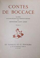 Les Contes de Boccace Boccacio Nouvelles Curiosa 1931 1/25 Japon Bibliophilie