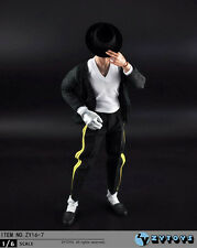 ZYTOYS ZY16-7 1/6 Scale Michael Jackson Black Dancing Clothes Set