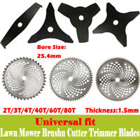"10"" 2T 3T 4T 40T 60T 80T Lawn Mower Brush Cutter Trimmer Weed Eater Blade"