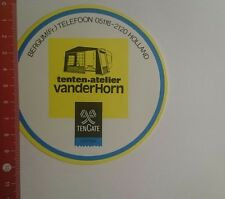 Aufkleber/Sticker: Tencate Cotton tenten Atelier vanderHorn (021116142)