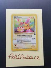 Pikachu Birthday Holo - ITALIAN - WOTC Promo nr 24 - Pokémon TCG - (Near) Mint!