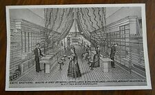 Antique Ravenna Ohio Print Smith Brothers Dealers in Fancy Goods #6 Phenix Block