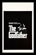 THE GODFATHER * CineMasterpieces WINDOW CARD ORIGINAL VINTAGE MOVIE POSTER 1972