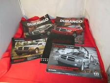 Lot Of 2004 04 Dodge Durango Dealership Pamphlets Flyers Price Sheet MOPAR