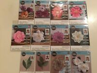 David Tutera Flower Sizzix Framelits Die Set  Pick 1 of 12 Dies NEW