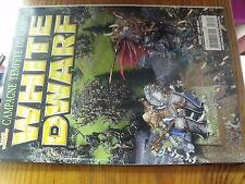 µ? Revue White Dwarf n°122 Warhammer Seigneur des Anneaux  Arachne  Archaon