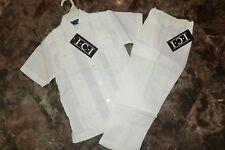 New Toddler 100% Linen White Cuban Guayabera Pant Set Sz 4T NWT
