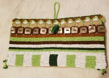 Antik Batik Vintage Glass Beaded Clutch Purse