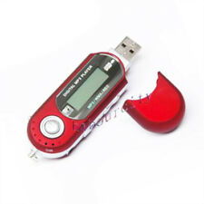 8GB USB Flash Drive MP3 Player Voice Recorder FM Digital Radio Red 8G MP3