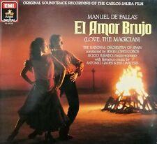 El Amor Brujo BSO Carlos Saura LOVE THE MAGICIAN OST LP ROCIO JURADO - A. GADES